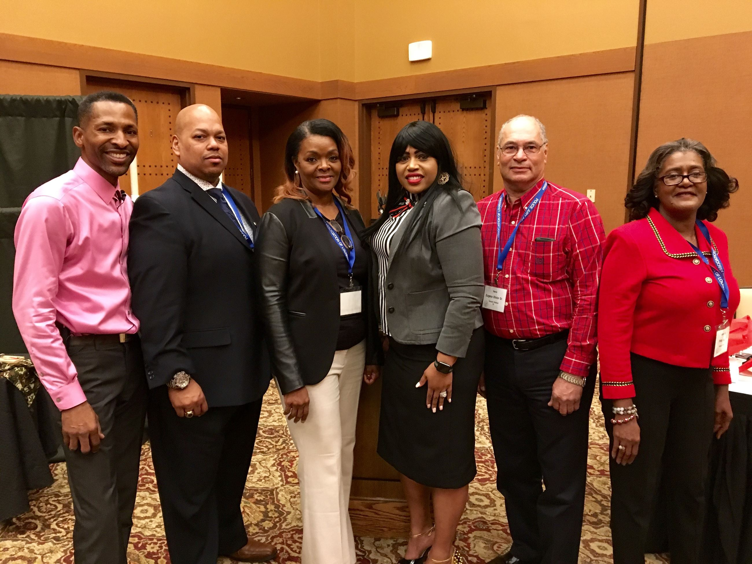 PJAL Black Caucus Officers 2019