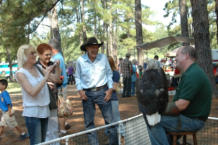Smiles at the Wildlife & Forestry Festival