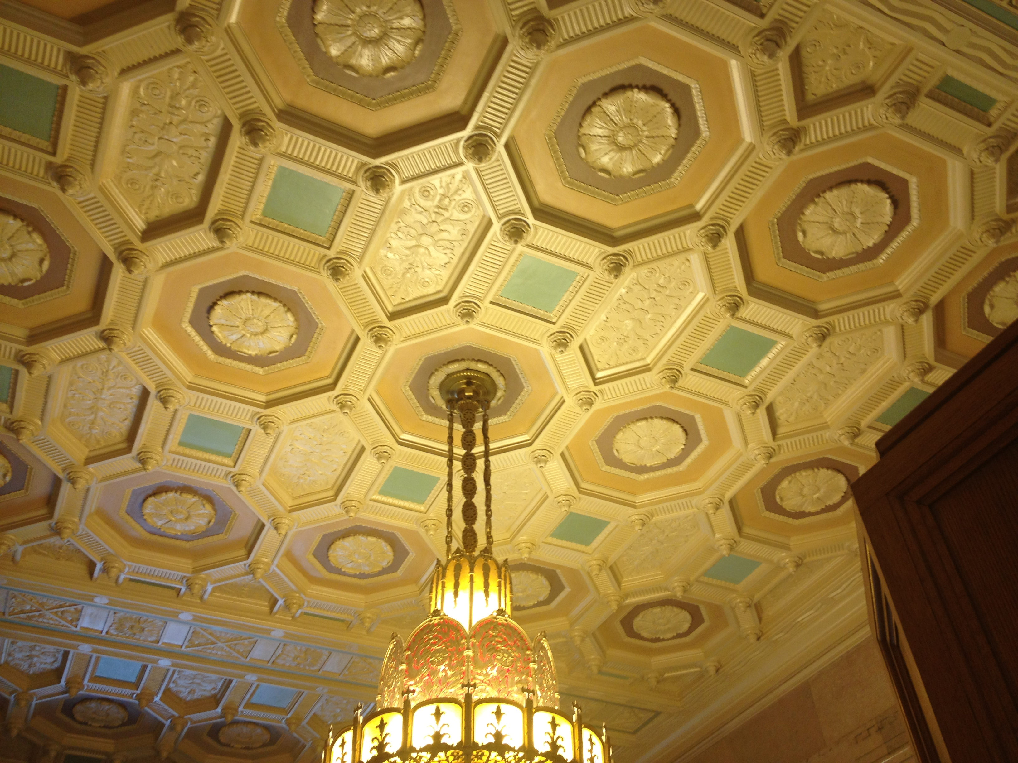 Courthouse Lobby Ceiling Detail